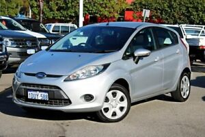 2012 Ford Fiesta WT CL PwrShift Silver 6 Speed Sports Automatic Dual Clutch Hatchback Midland Swan Area Preview