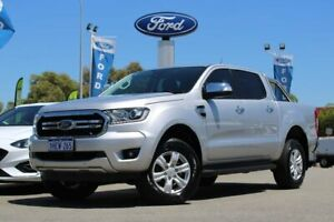 2018 Ford Ranger PX MkIII 2019.00MY XLT Silver 6 Speed Sports Automatic Utility Midland Swan Area Preview