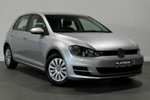 2016 Volkswagen Golf VII MY16 92TSI DSG Silver 7 Speed Sports Automatic Dual Clutch Hatchback Bayswater Bayswater Area Preview