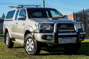 2010 Toyota Hilux KUN26R MY10 SR5 Xtra Cab Silver 5 Speed Manual Utility Wangara Wanneroo Area Preview