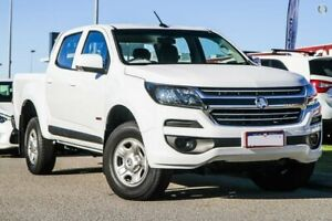2019 Holden Colorado RG MY19 LS Pickup Crew Cab 4x2 White 6 Speed Sports Automatic Utility Rockingham Rockingham Area Preview
