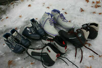 Cross Country Ski boots SNS Profil boots size 2 3 ½ 6 ½ 7 ½ 10 U
