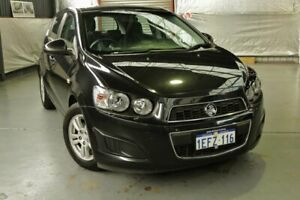 2012 Holden Barina TM MY13 CD Black 6 Speed Automatic Hatchback Myaree Melville Area Preview