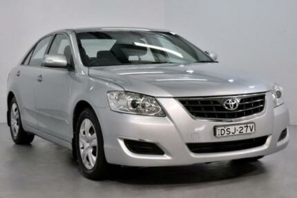 2009 Toyota Aurion GSV40R AT-X Silver 6 Speed Sports Automatic Sedan Lansvale Liverpool Area Preview