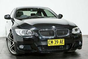 2012 BMW 325I E92 MY0312 Steptronic Black 6 Speed Sports Automatic Coupe Rozelle Leichhardt Area Preview