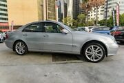 2005 Mercedes-Benz E350 W211 MY06 Elegance Silver 7 Speed Automatic Sedan Chatswood West Willoughby Area Preview
