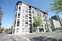 DOWNTOWN CONDO CENTRE-VILLE 4-1/2 (2 BEDROOMS) - BERRI 1400$