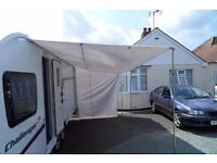 Caravan sun canopy used but excellent condition.