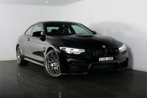 2018 BMW M4 F82 LCI Competition Sapphire Black Sports Automatic Dual Clutch Coupe