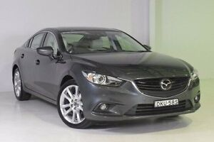 2014 Mazda 6 GJ1031 MY14 Atenza SKYACTIV-Drive Grey 6 Speed Sports Automatic Sedan Wadalba Wyong Area Preview
