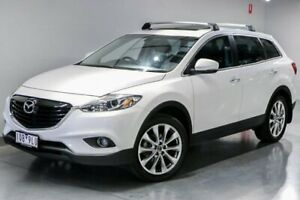 2015 Mazda CX-9 TB Series 5 Luxury White Sports Automatic South Morang Whittlesea Area Preview