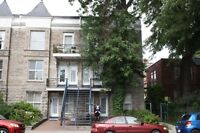 3+ bedroom apartment in Plateau corner of Milton and St. Urbain