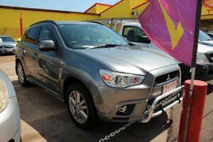 2011 Mitsubishi ASX XA MY12 Aspire Grey 6 Speed Automatic Wagon Stuart Park Darwin City Preview