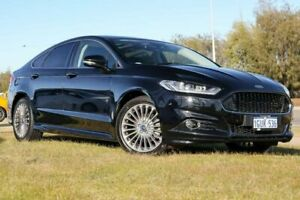 2016 Ford Mondeo MD Titanium PwrShift Black 6 Speed Sports Automatic Dual Clutch Hatchback Clarkson Wanneroo Area Preview