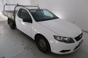 2010 Ford Falcon FG Super Cab White 4 Speed Sports Automatic Cab Chassis Hamilton North Newcastle Area Preview