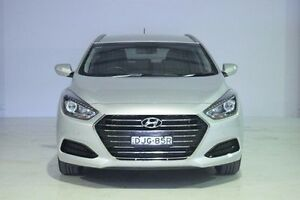 2015 Hyundai i40 VF4 Series II Active Tourer Silver 6 Speed Sports Automatic Wagon Wadalba Wyong Area Preview