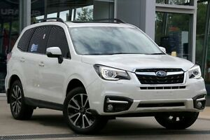 2016 Subaru Forester MY16 2.5I-S White Continuous Variable Wagon Zetland Inner Sydney Preview