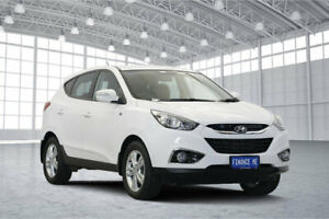 2013 Hyundai ix35 LM3 MY14 SE White 6 Speed Sports Automatic Wagon Victoria Park Victoria Park Area Preview