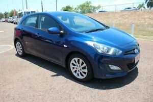 2013 Hyundai i30 GD Active Blue 6 Speed Manual Hatchback The Gardens Darwin City Preview