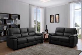 Brand new 3+2 Leather Sofa suite