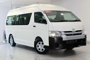 2017 Toyota HiAce KDH223R Commuter High Roof Super LWB White 4 Speed Automatic Bus Waterloo Inner Sydney Preview