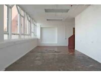 HACKNEY DOWNS STUDIOS/ Studio 16: creative office or workshop space with large windows / East London