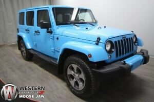 2017 Jeep Wrangler Unlimited Sahara 4x4 | Leather | Nav | Only 2