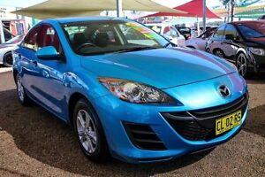 2009 Mazda 3 BL10F1 Maxx Blue 6 Speed Manual Sedan Colyton Penrith Area Preview