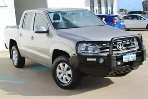 2013 Volkswagen Amarok 2H MY13 TDI420 4Motion Perm Trendline Beige 8 Speed Automatic Cab Chassis Greenfields Mandurah Area Preview