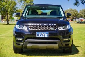 2015 Land Rover Range Rover Sport L494 16MY TdV6 CommandShift SE Black 8 Speed Sports Automatic