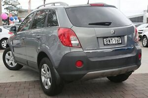 2011 Holden Captiva CG Series II 5 Grey 6 Speed Manual Wagon Waitara Hornsby Area Preview