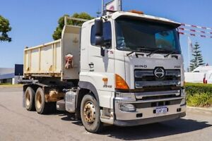 2013 Hino 700 White Tipper Welshpool Canning Area Preview