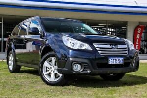 2013 Subaru Outback B5A MY13 2.0D Lineartronic AWD Premium Blue 7 Speed Constant Variable Wagon Victoria Park Victoria Park Area Preview