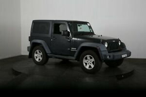 2011 Jeep Wrangler JK MY09 Sport (4x4) Black 6 Speed Manual Softtop McGraths Hill Hawkesbury Area Preview