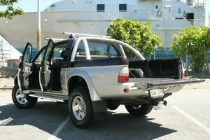 2004 Mitsubishi Triton MK MY04 GLS Double Cab Purple 5 Speed Manual Utility Bungalow Cairns City Preview