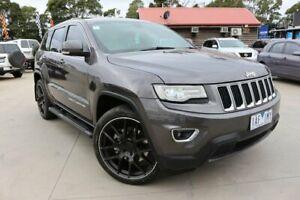 2013 Jeep Grand Cherokee WK MY2014 Laredo Grey 8 Speed Sports Automatic Wagon Dandenong Greater Dandenong Preview