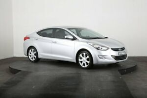 2012 Hyundai Elantra MD Premium Silver 6 Speed Automatic Sedan