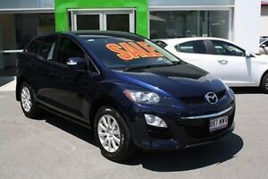2011 Mazda CX-7 ER10L2 Classic Activematic Blue 5 Speed Sports Automatic Wagon Mount Gravatt Brisbane South East Preview