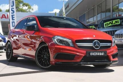 2014 Mercedes-Benz A45 W176 AMG SPEEDSHIFT DCT 4MATIC 7 Speed Sports Automatic Dual Clutch Hatchback Blacktown Blacktown Area Preview