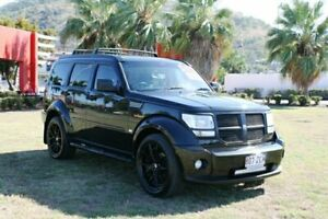 2010 Dodge Nitro KA MY09 SX Black 4 Speed Automatic Wagon Townsville Townsville City Preview