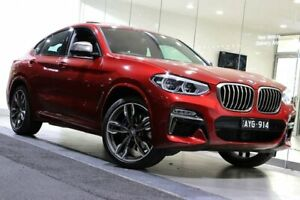 2018 BMW X4 G02 M40i Coupe Steptronic Red 8 Speed Sports Automatic Wagon South Melbourne Port Phillip Preview