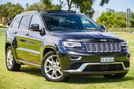 2015 Jeep Grand Cherokee WK MY15 Summit Black 8 Speed Sports Automatic Wagon