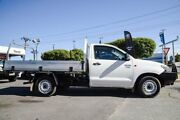 2013 Toyota Hilux TGN16R MY12 Workmate 4x2 Glacier White 5 Speed Manual Cab Chassis Osborne Park Stirling Area Preview