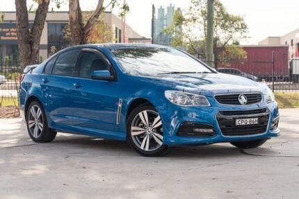2013 Holden Commodore VF MY14 SS Blue 6 Speed Sports Automatic Sedan