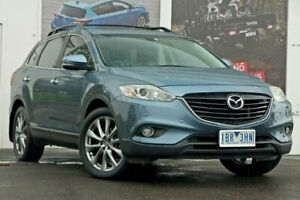 2014 Mazda CX-9 TB10A5 Luxury Activematic AWD Blue 6 Speed Sports Automatic Wagon Ferntree Gully Knox Area Preview