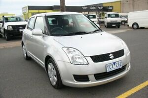 2010 Suzuki Swift RS415 S Silver 4 Speed Automatic Hatchback Cheltenham Kingston Area Preview