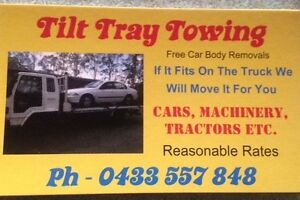 Cheap local towing tilt tray ,cars ,machinery , trailers , Upper Caboolture Caboolture Area Preview