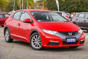 2013 Honda Civic 9th Gen MY13 VTi-S Red 5 Speed Sports Automatic Hatchback Maddington Gosnells Area Preview