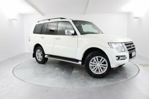 2017 Mitsubishi Pajero NX MY17 GLX White 5 Speed Sports Automatic Wagon Launceston Launceston Area Preview