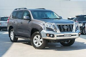2013 Toyota Landcruiser Prado KDJ150R GXL Graphite 5 Speed Sports Automatic Wagon Brookvale Manly Area Preview